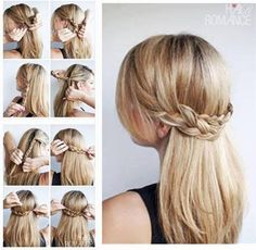 Brilliant 1000 Images About Cute Hair Styles On Pinterest Cute Hairstyles Hairstyle Inspiration Daily Dogsangcom