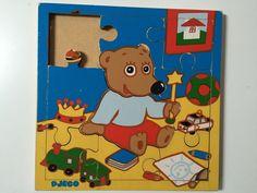 Puzzle bois Djeco 80'