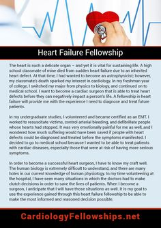 Heart Failure Fellowship Personal Statement Sample Which Can Help