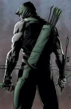 Green Arrow #41 cover by Patrick Zircher and Gabriel Eltaeb