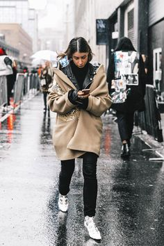 Best Street Style Looks of NYFW Fall 2017 // embellished boots