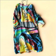 Artistic Abstraction Dress