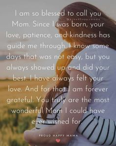 Discover the perfect way to wish your Mom a happy Mother's Day with these beautiful Happy Mother's Day Quotes From Daughter To Mother! Mother Birthday Quotes, Birthday Message For Mother, Happy Mothers Day Messages, Happy Mother Day Quotes, Mother Day Message, Mother Poems, Mother Day Wishes, Happy Birthday Quotes For Daughter, Happy Daughters Day