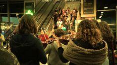 Flashmob 16/11/2013 - Orchestre des Jeunes de Lyon - Centre d'échanges d...