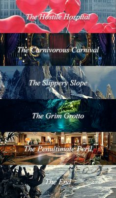 Series of Unfortunate Events - Lemony Snicket Shows On Netflix, Netflix Series, The Hostile Hospital, The Penultimate Peril, The Austere Academy, A Series Of Unfortunate Events Netflix, Les Orphelins Baudelaire, Count Olaf, Lemony Snicket