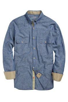 Coolibah Chambray Shirt - Mens Shirts - French Connection Usa