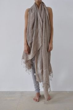 Am I the only one that likes a scarf this big?