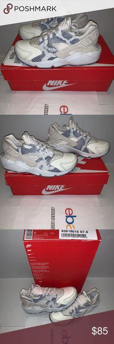 8794bf075b02a Womens Nike Air Huarache Run Phantom Wht Size 7
