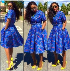 Trendsetting Ankara Styles: Make A Long Lasting Fashion Statement! - Wedding Digest Naija Trendsetting Ankara Styles: Make A Long Lasting Fashion Statement! - Wedding Digest Naija Trendsetting Ankara Styles: Make A Long Lasting Fash African Dresses For Women, African Print Dresses, African Fashion Dresses, African Attire, African Wear, African Women, Nigerian Fashion, African Prints, Ankara Fashion