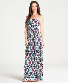 Mosaic Maxi Dress | Ann Taylor