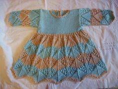 Anke`s Strickwelt - Babys Girls Knitted Dress, Knit Dress, Baby Knitting, Knitting Patterns, Summer Dresses, Boys, Baby Knits, Uber, Crocheting
