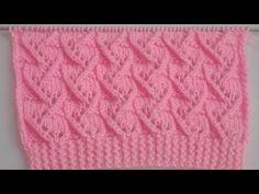 New knitting design/pattern for cardigan, sweater, jacket, frock Designer Knitting Patterns, Baby Knitting Patterns, Knitting Designs, Stitch Patterns, Crochet Patterns, Knitting Stiches, Knitting Videos, Easy Knitting, Big Knit Blanket