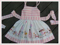 Birthday in Vintage First Birthday dress toddler dress by HMGGirl, $48.00