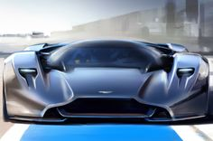 Provided by Motor Trend the 2015 Aston Martin Design Prototype 100 (DP-100) twin turbo V12 800HP