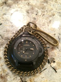 Panerai 508 on Rinascita Concepts pocket watch patch! #panerai #pam508 #rinascitaconcept