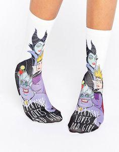 Disney Villains Everyone Loves A Bad Girl Ankle Socks