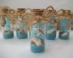 wedding favors Beach Message In Bottle Favor - Shell Starfish Charms, Beach Theme Wedding Bridal Shower Special Event Favor, Set of 6 Beach Wedding Reception, Beach Wedding Decorations, Beach Wedding Favors, Beach Weddings, Beach Theme Centerpieces, Wedding Ideas, Wedding Parties, Wedding Themes, Wedding Photos