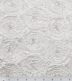 Bridal Inspirations Fabric Collection-White Circle Embroidered Taffeta: special occasion fabric: apparel fabric: fabric: Shop | Joann.com