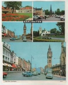 DURHAM - DARLINGTON, HIGH ROW & Multi-View Postcards* | eBay