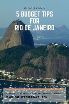 Budget tips for Rio de Janeiro. How to save money and visit the must-see places in Rio, Brazil?