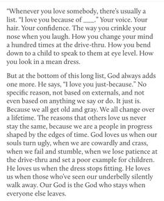 WOW!!! ❤  Thank You Lord, and thank you to whoever posted this! (I needed to hear this!)
