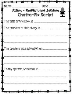 Have you tried out ChatterPix yet!!?   It is an AWESOME app! ChatterPix allows students to make pictures come to life! It's great for summarizing, presenting, reading fluency, and so much more!!!