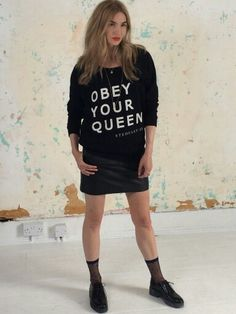 Obey your Queen Stedfast London