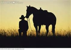 Cowboy On Horse Silhouette - Bing Images