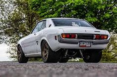 Although JDM styling and tuning is as popular in this part of the world as it is in any other, rides like this 1975 Toyota Celica are few and far between in a country like Australia. Toyota Celica, Toyota Cars, Royce Car, Lowered Trucks, Best Muscle Cars, Jdm Cars, Tuner Cars, Japanese Cars, Car Shop