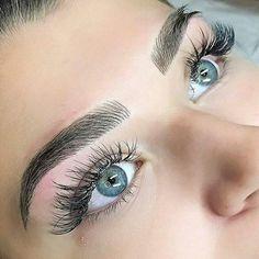 perfect-eyebrows-made-easy-with-semi-permanent-make-up - More Beautiful Me 1 Mircoblading Eyebrows, Eyebrows Goals, Permanent Makeup Eyebrows, Eyebrow Makeup, Skin Makeup, Eyelashes, Flawless Makeup, Gorgeous Makeup, Makeup Geek