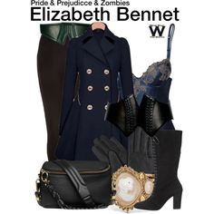 Inspired by Lily James as Elizabeth Bennet in 2016's Pride and Prejudice and Zombies.