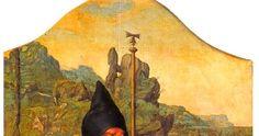 San Antonio Abad Ala del retablo de Ntra. Sra. de la Concepción (conservado incompleto) Joos van Cleve c.1530-37 Agaete (Gran Canaria)....