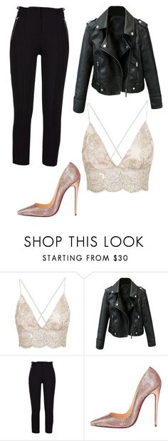 """Untitled #604"" by gucci-cush ❤ liked on Polyvore featuring Christian Louboutin"