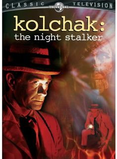 """Kolchak -  The Night Stalker"" short-lived great TV show starring Darrin McGavin as monster-magnet reporter Carl Kochak.  The acknowledged inspiration for ""The X Files"", according that show's creator.  MacGavin (the father in ""A Christmas Story"") was never better in a long and illustrious career."