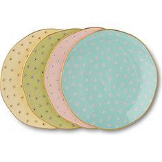 Polka Dot Tea Story tea plates