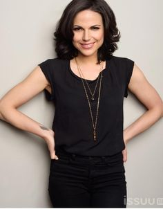 "Lana Parrilla in 'Regard Magazine'. ""Didn't anyone tell you? Black is my color!""-Regina Mills"