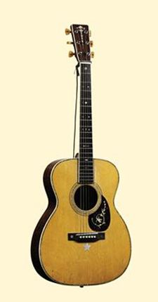 An anonymous buyer has paid an amazing $460,000 for a rare Martin acoustic guitar that was once owned by singing cowboy Roy Rogers. The guitar, which was auctioned by Christies Auctions for The Roy Rogers-Dale Evans Museum in Branson, Mo., was built in 1930 and is considered one of the rarest and most coveted acoustic guitars in the world.