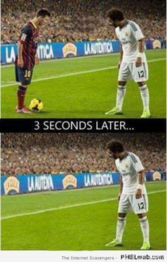 Entertainment Discover Lionel Messi zniknął Marcelo w El Clasico Barcelona vs Real Madryt Funny Football Memes Funny Sports Memes Funny Football Pictures Messi Vs Ronaldo Messi Messi Neymar Barcelona Fc Barcelona Football Soccer Motivation Funny Football Pictures, Funny Football Memes, Soccer Jokes, Funny Sports Memes, Soccer Pictures, Cr7 Vs Messi, Messi Soccer, Messi And Ronaldo, Football Soccer