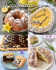 Holiday Desserts, Holiday Recipes, Polish Holidays, Easter This Year, Easter Recipes, Easter Food, Breakfast, Sweet, Cook