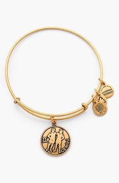 Alex and Ani 'Gemini' Adjustable Wire Bangle available at #Nordstrom
