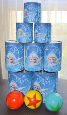 Un anniversaire Reine des Neiges pour les 5 ans de Mélina