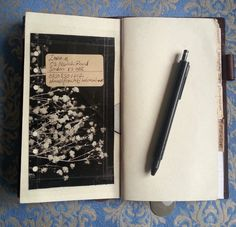 Life on Paper by Filofancy: My Midori Traveler's Notebook Set-up: Oct 2014