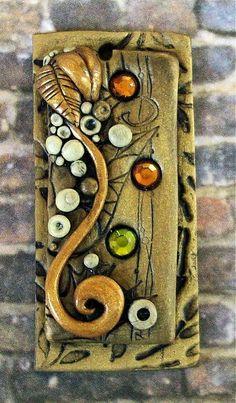 Polymer clay Pendant by *MandarinMoon on deviantART