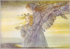 the art of sulamith wulfing - guiding angel