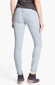Articles of Society 'Mya' Skinny Jeans (Light Wash) (Juniors) available at #Nordstrom