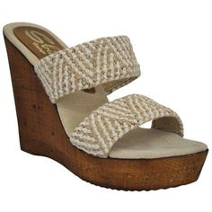 Tristan Wedge Beige, $59, now featured on Fab.