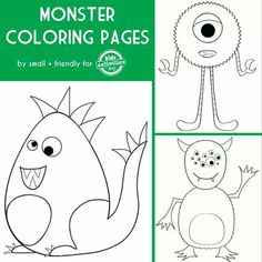monster printable templates | kids crafts | pinterest | monsters - Baby Cookie Monster Coloring Pages