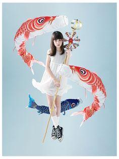 """Impossible Girl"" ~ Mikoshima Kikuni • http://girlsartalk.com/feature/21461.html"