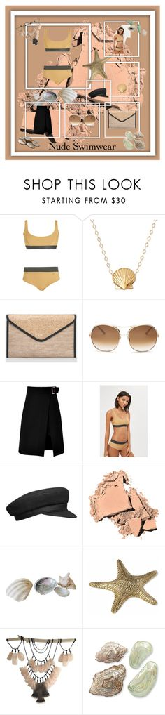 """Barefoot at the Beach"" by donnamarie-s ❤ liked on Polyvore featuring Ashley Stewart, Chloé, storets, Bobbi Brown Cosmetics, Frontgate, Two's Company and IMAX Corporation"