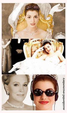 Princess Diaries :) Two of my favorite ladies!